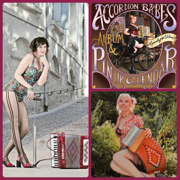 AccordionBabes Collage