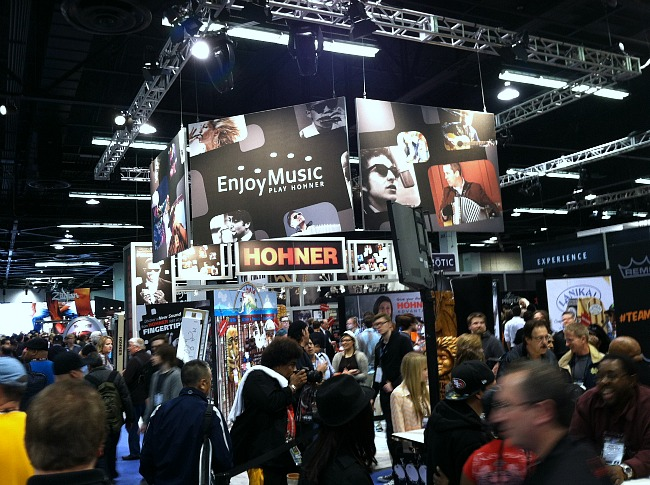hohner booth